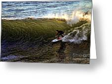Surfers Rule Greeting Card