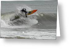 Surfing 57 Greeting Card