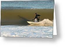 Surfing 77 Greeting Card