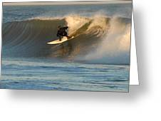 Surfing 80 Greeting Card