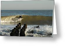 Surfing 81 Greeting Card