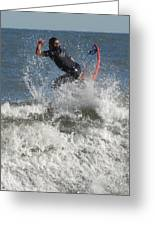 Surfing 92 Greeting Card