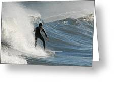 Surfing 93 Greeting Card