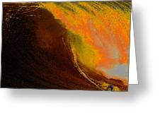 Surfing Dream Greeting Card