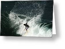 Surfing Hawaii 4 Greeting Card