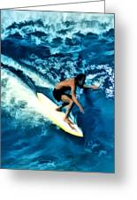 Surfing Legends 12 Greeting Card