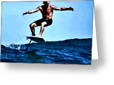 Surfing Legends 5 Greeting Card