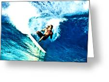 Surfing Legends 9 Greeting Card