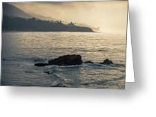 Leo Carrillo Beach Greeting Card