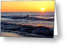 Surf's Up Grand Bend Greeting Card
