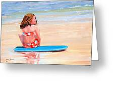 Surfside Greeting Card