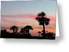 Surfside Sunset Greeting Card