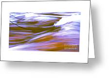 Surging Currents Greeting Card
