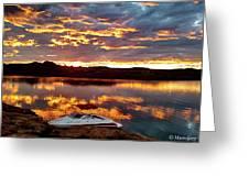 Surise On Lake Powell Greeting Card