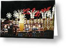 Surreal Carnival Greeting Card