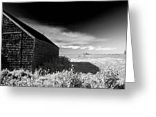 Surreal Landscape Greeting Card