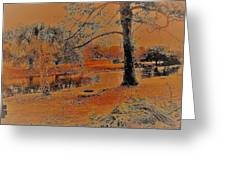 Surreal Langan Park 2 - Mobile Alabama Greeting Card