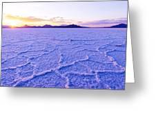 Surreal Salt Greeting Card