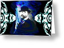 Surreal Satie, The Velvet Gentlemen Greeting Card