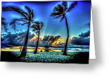 Surreal Sunrise Greeting Card