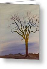 Surreal Tree No. 1 Greeting Card