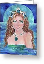 Surrender To The Sea Mermaid Greeting Card