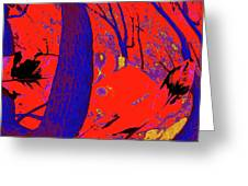 Surrounded 6 Greeting Card