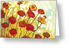 Surrounded In Gold Greeting Card