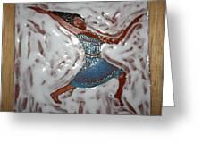 Susan - Tile Greeting Card