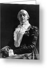 Susan B. Anthony (1820-1906) Greeting Card