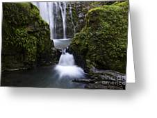 Susan Creek Falls Oregon 4 Greeting Card