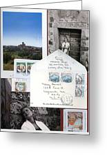 Susan In Italia Greeting Card