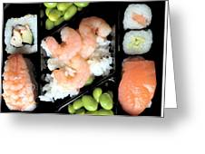 Sushi Day Greeting Card