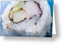 Sushi Roll Greeting Card
