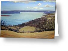 Susquehanna River View Greeting Card