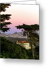 Sutro Heights Park View Greeting Card