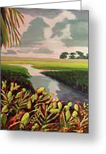 Suwanee River Delta Greeting Card
