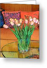 Suzannes Flowers Greeting Card