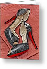 Suzette Loves Her Louboutins Greeting Card