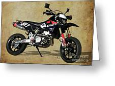 Suzuki Race Motorcycle. 387. Greeting Card