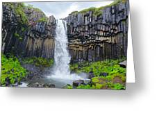 Svartifoss, Iceland Greeting Card