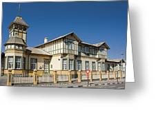 Swakopmund's German Colonial Architecture Greeting Card