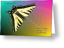 Swallowtail - Come Fly Away With Me Greeting Card