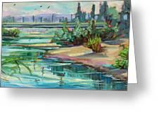Swallowtail Riverside Greeting Card