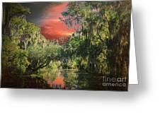 Swamp 1 Greeting Card
