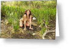 Swamp Beauty Seven Greeting Card