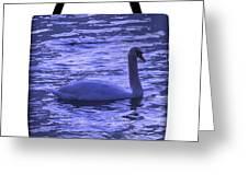 Swan Lake-tote Bag Greeting Card