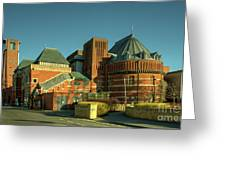 Swan Theatre Of Stratford  Greeting Card