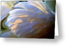 Swan Wing One Greeting Card