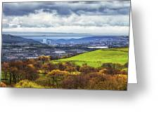 Swansea And Mumbles Greeting Card